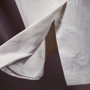 Evan Piccone White Pencil Skirt NWOT
